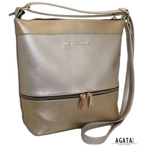 356 сумка перламутр золото беж