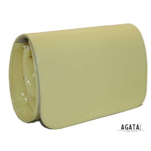 353 сумка лак жовта